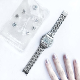 Reloj Dakot Clásico - Malla Metálica