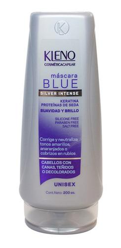 Imagen 1 de 1 de Mascara Kleno Blue Silver Intense Matizador X 200