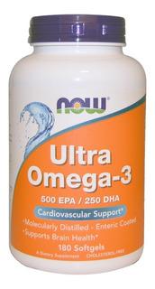 Ultra Omega 3, Promoção! 180 Caps/concentrado 500epa /250dha