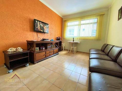 Imagem 1 de 19 de Apartamento Com 2 Dormitórios À Venda, 63 M² Por R$ 270.000,00 - Canto Do Forte - Praia Grande/sp - Ap2308
