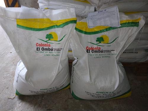 Sal Minavit 6 P X 25 Kg - Alimentos Colonia El Ombú