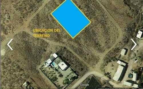 Terreno En Todos Santos Economico
