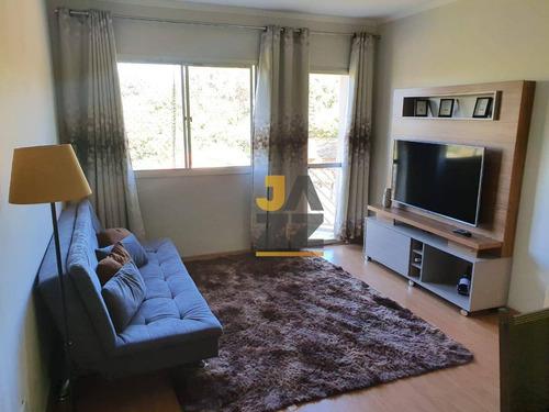 Imagem 1 de 28 de Apartamento Harmonioso Com 3 Dormitórios À Venda, 65 M² Por R$ 290.000 - Vila Ipê - Campinas/sp - Ap7440