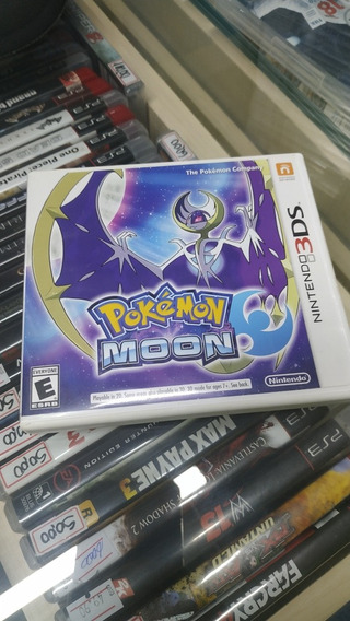 Pokemon Moon 3ds Usado Usa
