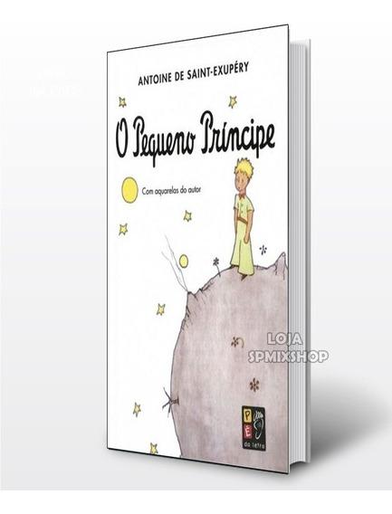 Livro O Pequeno Príncipe - Ed Pé Da Letra 141 Pgs - 16 X23cm