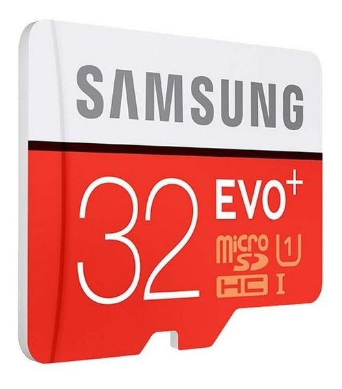 Cartão Microsd 32gb Samsung Evo+ Classe 10 80mb/s