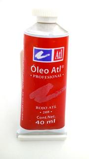 Pintura Oleo Atl (violeta 208, 40 Ml)