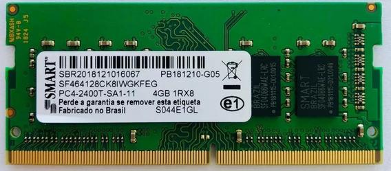 Memória Ram 4gb Smart Ddr4 Pc4-2400t Frequência De 2133mhz