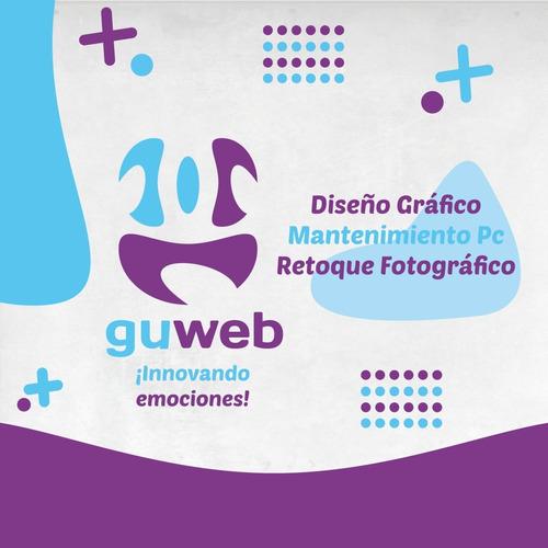 Diseño De Logo Mantenimiento De Pc Retoque Fotografico