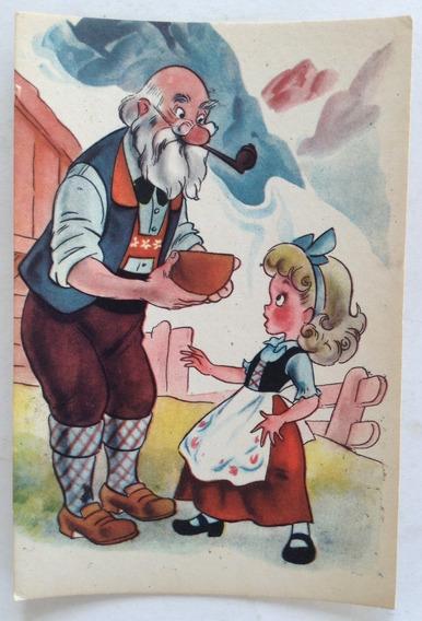 Antigua Tarjeta Postal Infantil N° 8 Codex Año 1952