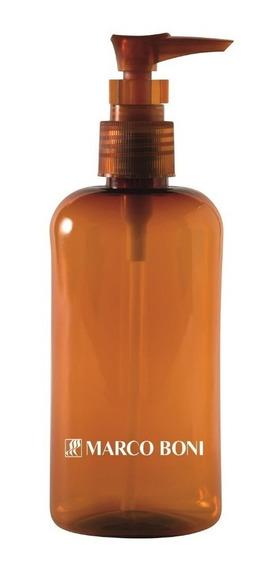 Porta Shampoo 240 Ml Com Válvula Pump De Viagem Marco Boni