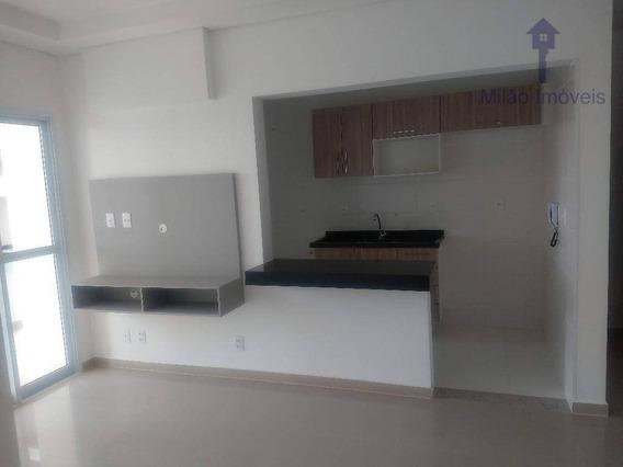 Apartamento 2 Dormitórios Para Locação, 66m², Edifício Villa Lobos, Pq. Campolim Em Sorocaba/sp - Ap1052