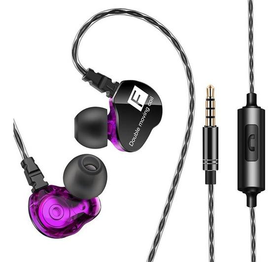 Fone In Ear Qkz Ck9 Retorno De Palco Esportes Celular 3x1