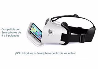 Lentes De Realidad Virtual Azul Control Remoto Nuevos
