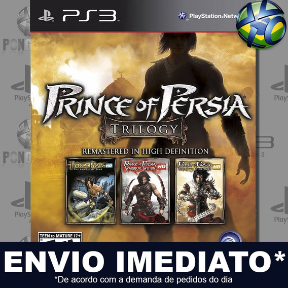Prince Of Persia Classic Trilogy Hd Ps3 Digital Psn Promoção