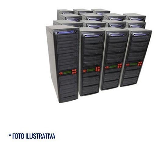 Copiadora De Dvd E Cd Com 11 Gravadores - Usado