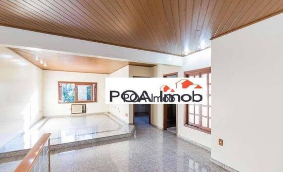Casa Com 3 Dormitórios Para Alugar, 300 M² Por R$ 3.700,00/mês - Rio Branco - Porto Alegre/rs - Ca0646