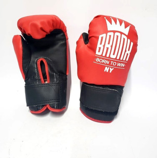 Guantes Box Niños Infantil Bronx Boxeo Kick Boxing Muay Thai