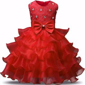 Vestido De Festa Infantil Luxo Casamento Formatura Daminha.