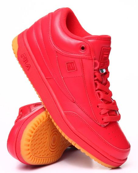 Zapatos Deportivos Fila Color Rojo