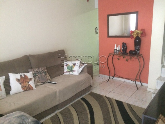 Venda/aluguel-sobrado Em Condominio Com 02 Dormitorios-01 Vaga-jardim Bela Vista-mogi Das Cruzes-sp - V-1923