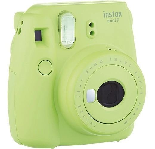 Câmera Revelação Instantânea Fujifilm Instax Mini 9 Verde