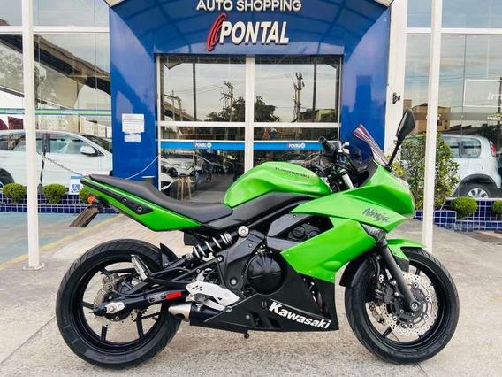 Kawasaki Ninja 650r Abs Ano 2012 Financiamos Em Até 48x