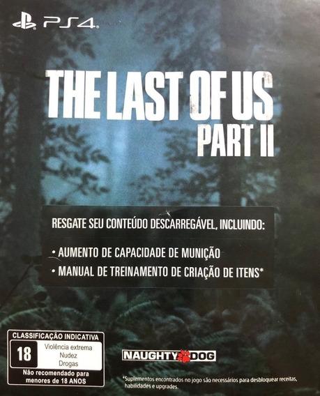 Dlc - The Last Of Us Parte 2 -não E Jogo, Leia Descrição