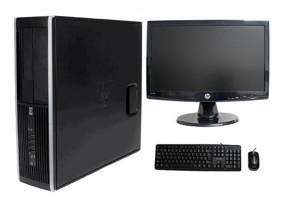 Computador Hp Elite 8200 I7 8gb 500gb Monitor 19 Polegadas
