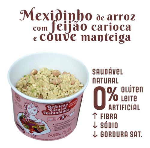 Imagem 1 de 9 de Mexidinho Arroz Branco Feijão Carioca Sem Glúten Sem Leite