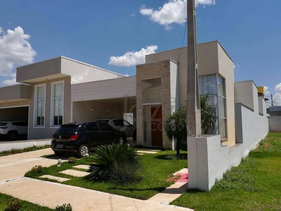 Incerível Casa Térrea No Condomínio Campos Do Conde 2, Em Paulínia - Ca4670