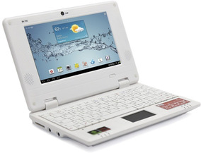 Notebook Infantil 7 Android 8gb Hdmi Jogos Net Cam Wifi App