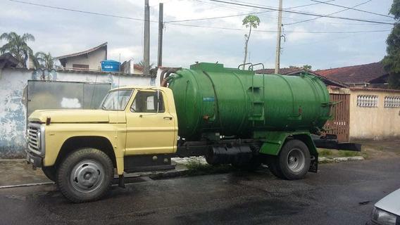 Caminhão Limpa Fossa 8m³ Ford F 11.000 Ano 1985