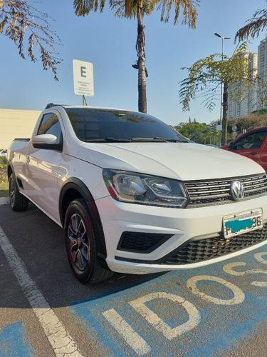 Imagem 1 de 8 de Volkswagen Saveiro 1.6 Trendline Cab. Simples Total Flex 2p
