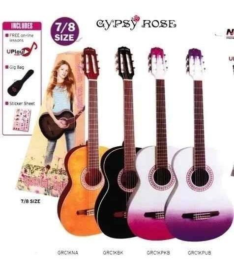 Guitarra Criolla Gypsy Rose Funda Soundgroup .