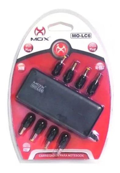 Carregador Para Notebook Universal Mo-lc6 - Mox - Preto