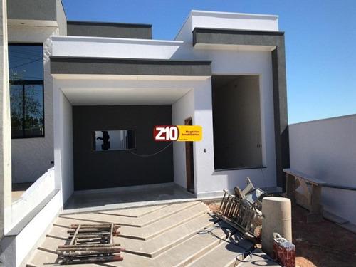 Casa - Condominio Mantova - Indaiatuba/sp. At.230 M². Ac.160 M². Z10 Negocios Imobiliarios. - Ca09388 - 69399973