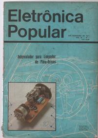 2925 Revista Eletrônica Popular Nº 1 Volume 38 1975 Raridade