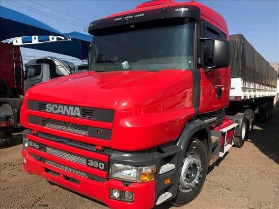 Scania 124g 360 Bicuda 6x2 Graneleiro 2000.