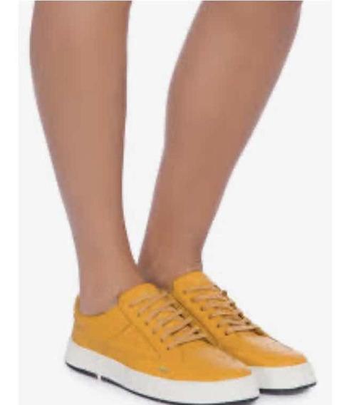 Tênis Osklen Soho Amarelo 35