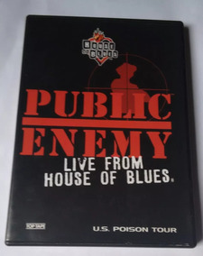 Dvd Public Enemy Live From House Of Blues Original