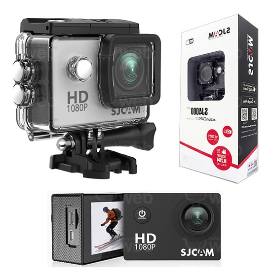 Camera Sjcam Sj4000 1080p Full Hd Gopro Bike Carro Capacete