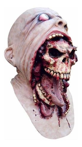 Imagen 1 de 1 de Máscara De Látex Blurp Charlie Calavera Esqueleto Terror