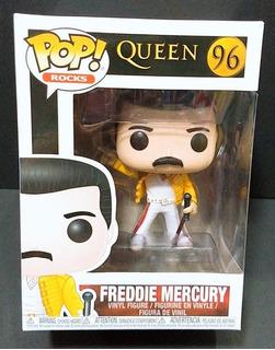 Figura Funko Pop Rocks - Freddie Mercury - Nº 96 - Original