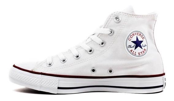 Tenis Feminino All Star Converse Chuck Taylor Hi C112 Branco