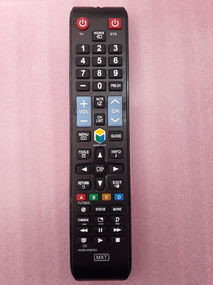 Controle Remoto Tv Lcd Led Smart Samsung Futebol 3d