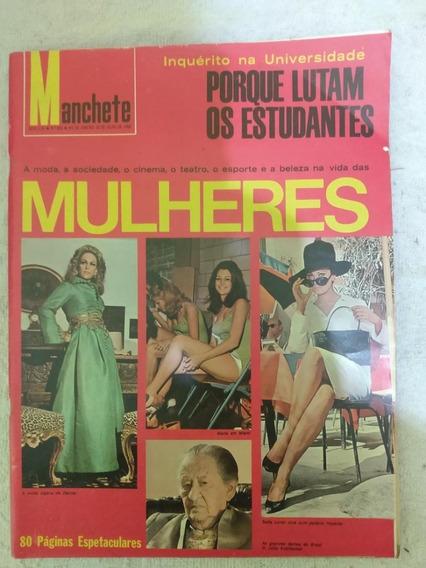 Revista Manchete De 1968 Numero 848
