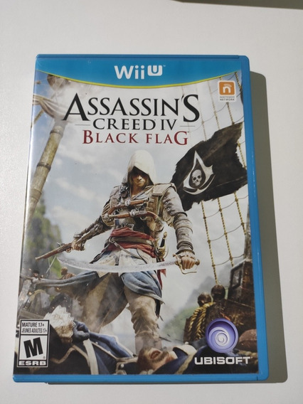 Assassins Creed Iv 4 Black Flag Americano Mídia Física Wii U