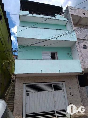 Sobrado Com 3 Dormitórios À Venda, 288 M² Por R$ 250.000,00 - Vila São Rafael - Guarulhos/sp - So0154
