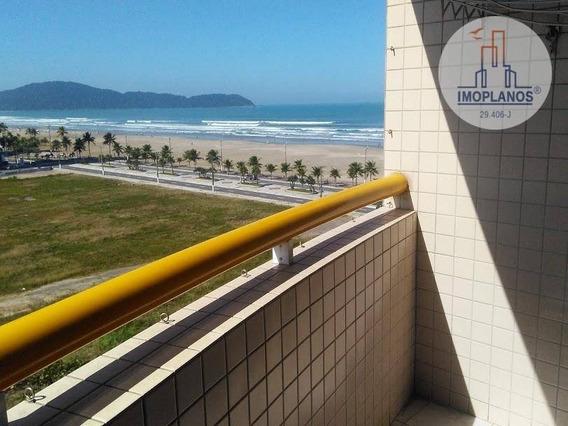 Kitnet Com 1 Dormitório À Venda, 39 M² Por R$ 143.000,00 - Campo Da Aviação - Praia Grande/sp - Kn0621